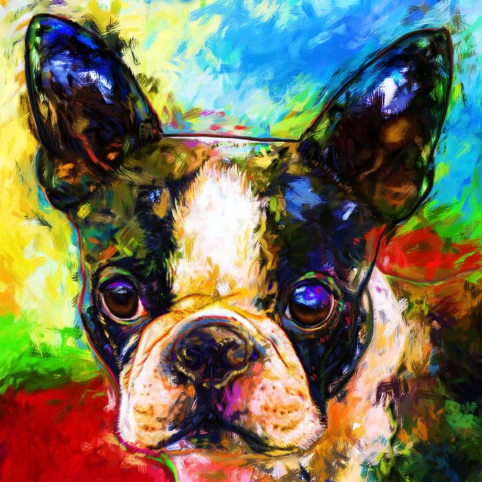 Bonnie Morgan Artist Painting