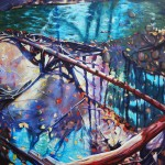 Justin Bernhardt Painting, Booth: D266