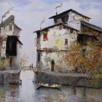 Zhen Zhong Duan, Painting, Booth: 153