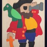 George Efta, Wood, Booth: D205