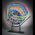 Mark Wagar, Glass, Booth: 088